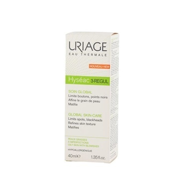 Uriage  Hyseac 3 Regul Global Skin Care 40ml Renksiz